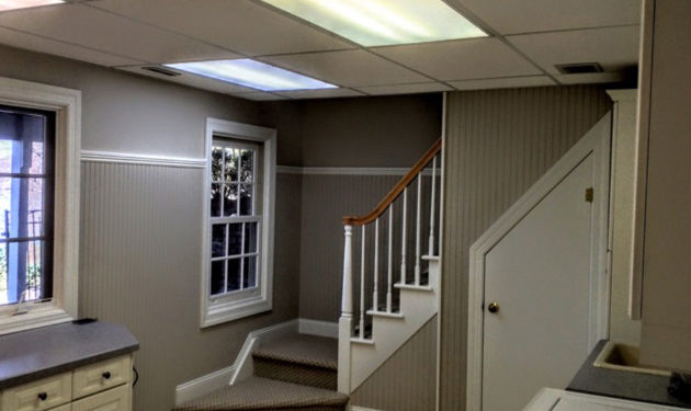 Painting Basement After