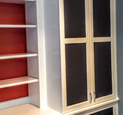 Built-in Wall Unit After