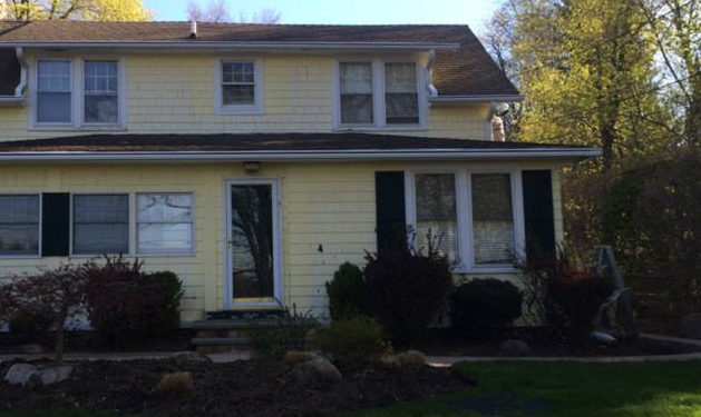 Exterior House Painting Before